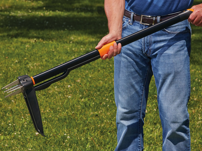 Stand-Up Weeder guide